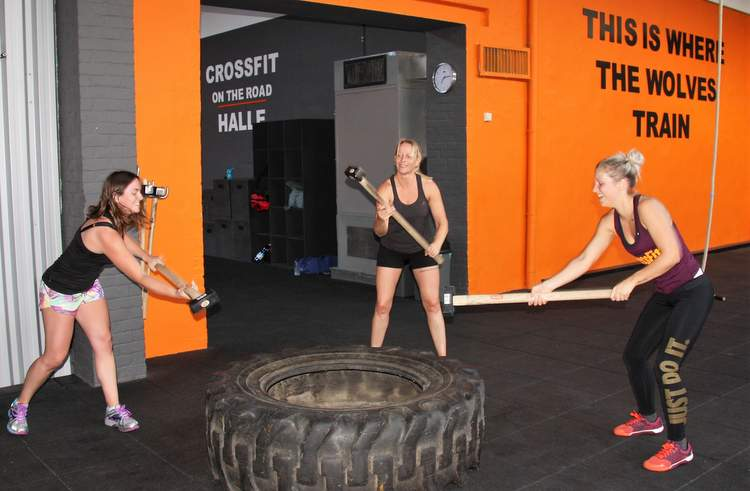 CrossFit ladies traininen