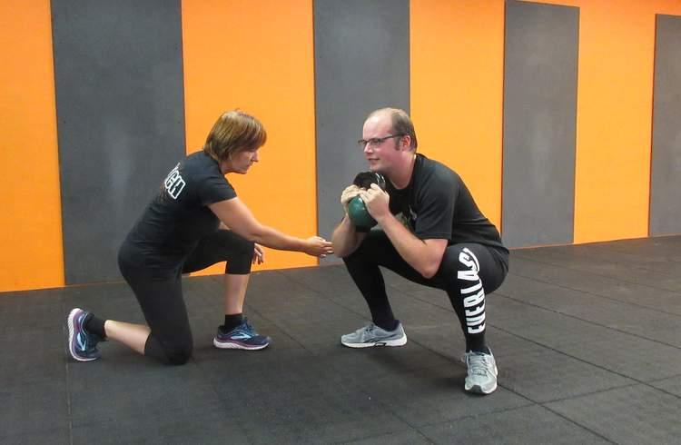 Personal training met Carine