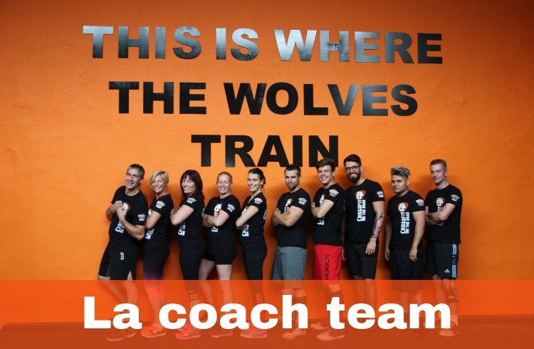 La coach team CrossFit On The Road