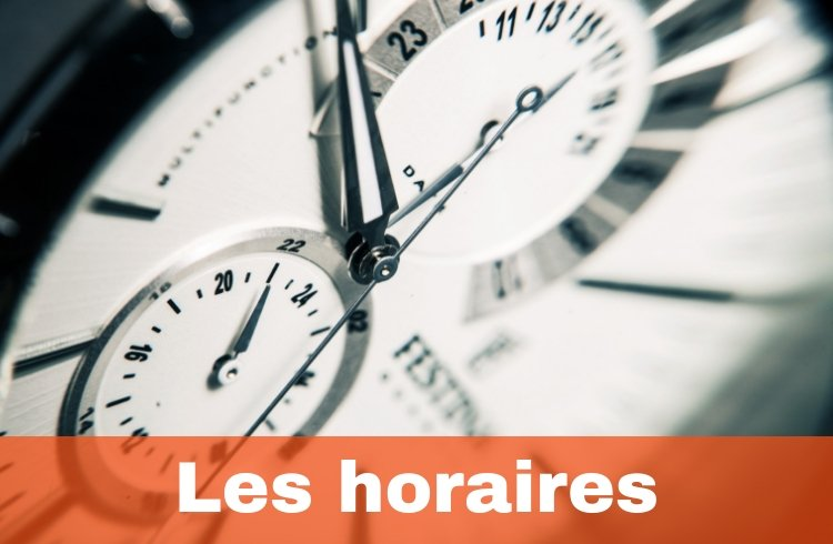 Les horaires chez CrossFit On The Road